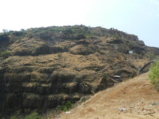 Kolhapur, Indie: Vishalgad - Only accessible side of fort