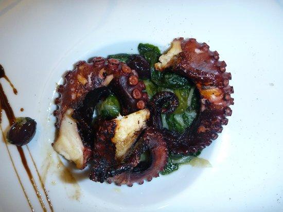 Tenuta Na. Ri : polpo con verdure