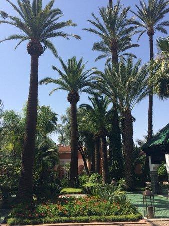 La Mamounia Marrakech: entrance