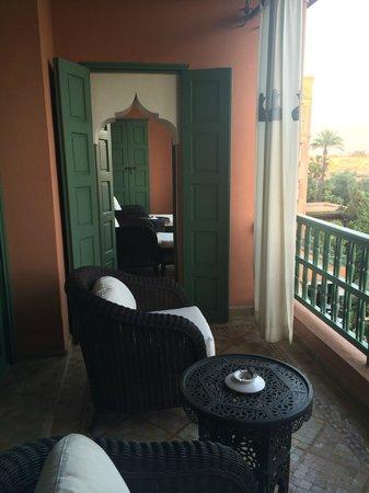 La Mamounia Marrakech : double terrace room 358