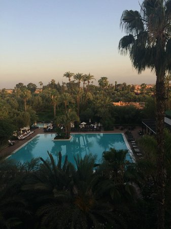 La Mamounia Marrakech: swimming pool