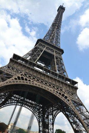 Tour Eiffel : Da sotto