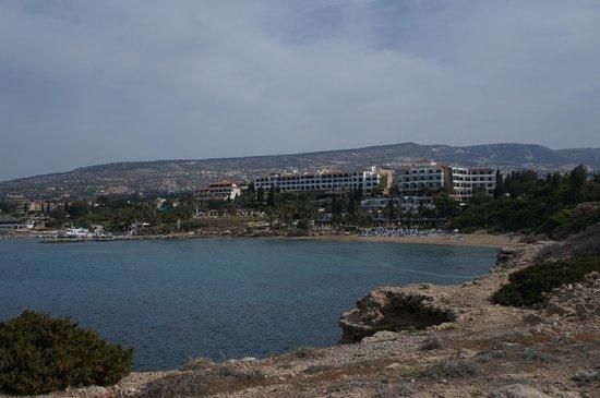 Coral Bay: пляж отеля Корал Бич