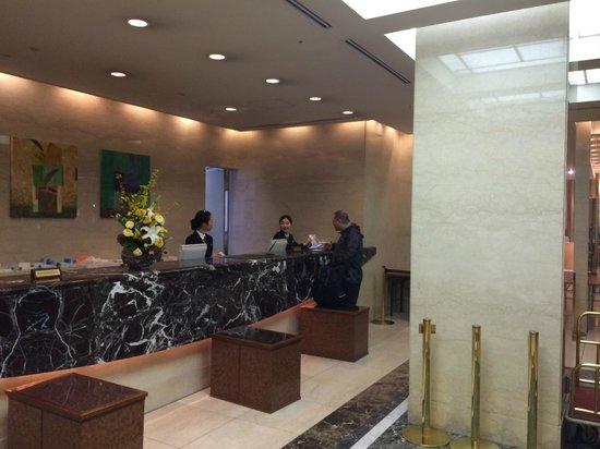 ibis Styles Osaka : Lobby del hotel