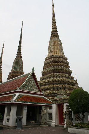 Temple du Bouddha Couché (Wat Pho) : Tempelanlage