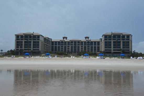 The Ritz-Carlton, Amelia Island: View from beach