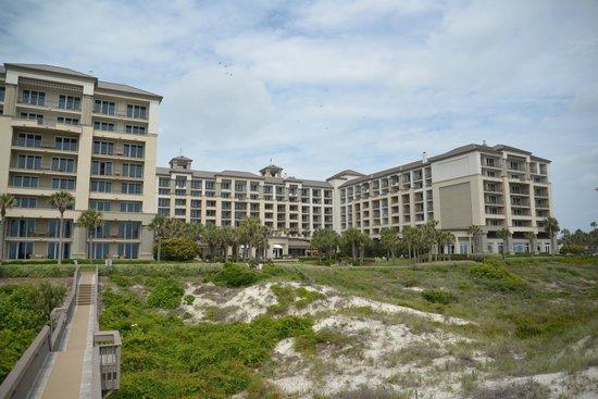 The Ritz-Carlton, Amelia Island: View of central courtyard