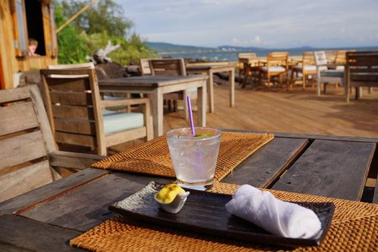 Mango Bay Resort: Welcome drink