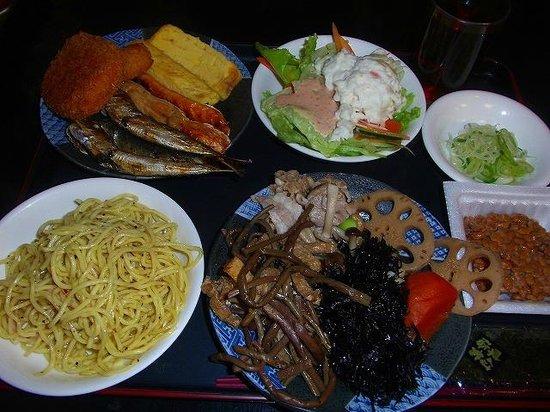 Wellbe Imaike : 朝食