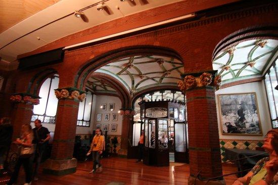 Palau de la Musica Orfeo Catala: 最初に入るリハーサル室