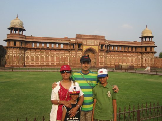 Interior - Agra Fort