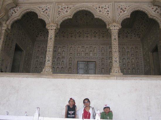 Агра, Индия: Jodha Akbar movie shooting site