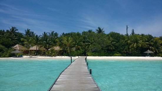 Veligandu Island Resort & Spa: Parte dell'isola