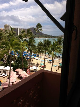 The Royal Hawaiian, a Luxury Collection Resort: our view!