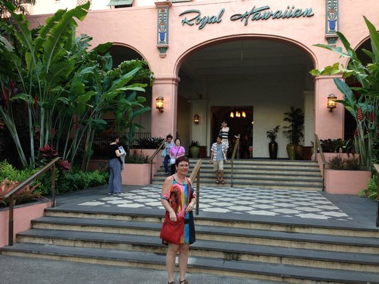 The Royal Hawaiian, a Luxury Collection Resort: oozes character and warmth!