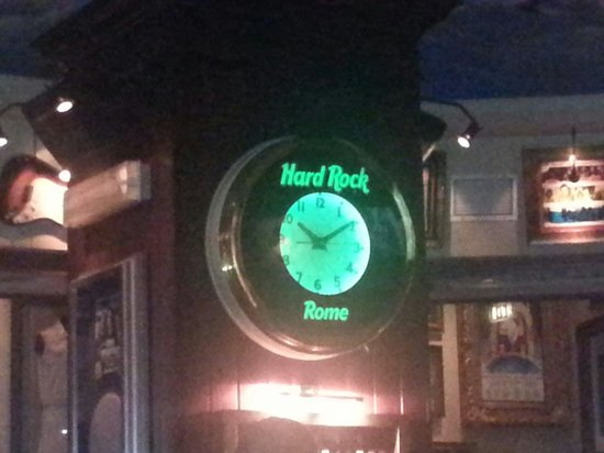 Hard Rock Cafe Rome: Whatch