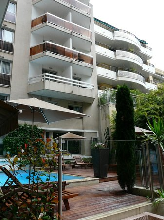 Mercure Cannes Croisette Beach: Отель
