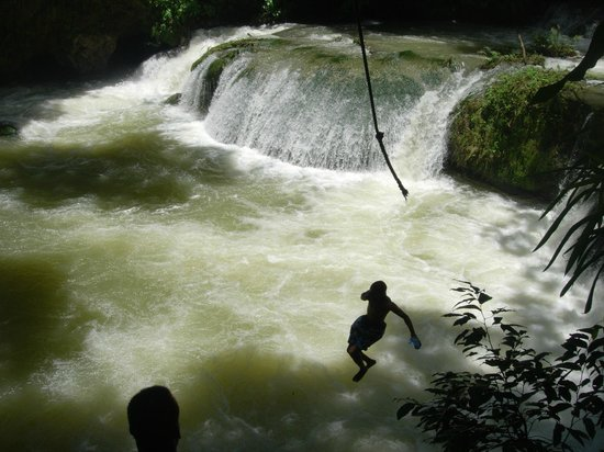 YS Falls: Letting go of the rope