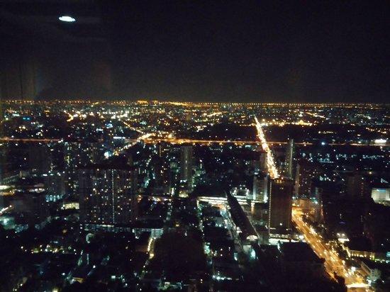 Baiyoke Sky Hotel: 72eme etage