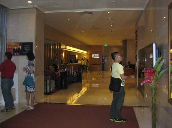 Novotel Singapore Clarke Quay: Area lobby hotel
