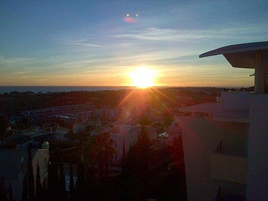 Encosta da Orada: Iced tea and sunset! One of my fav parts :)