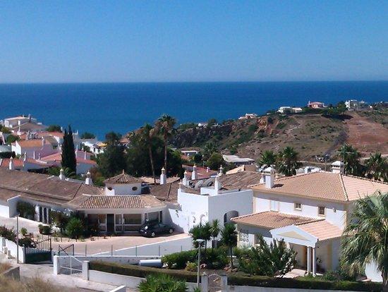 Encosta da Orada: View from the living room (plus balcony) front view.