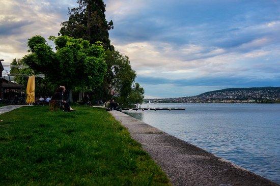 Ziegel oh Lac : terrasse