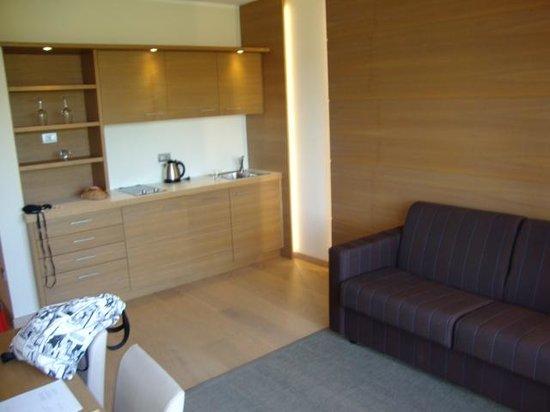 Napura Art & Design Hotel: cocina