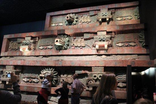 Museo Nacional de Antropología: Replica inside the Museum
