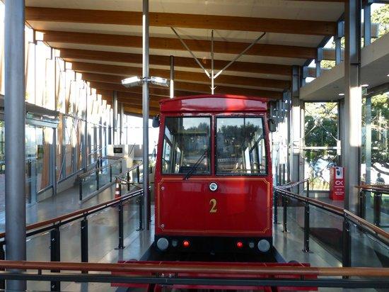 Wellington Cable Car : terminus en haut