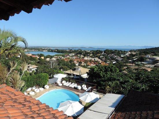 Buzios Arambare Hotel: Vista Sacada e piscina do Hotel