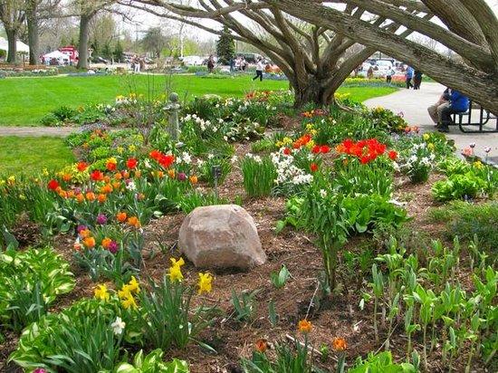 Windmill Island Gardens: Pretty gardens abound