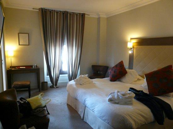 Westminster Hotel & Spa: Номер супериор на последнем этаже (510)