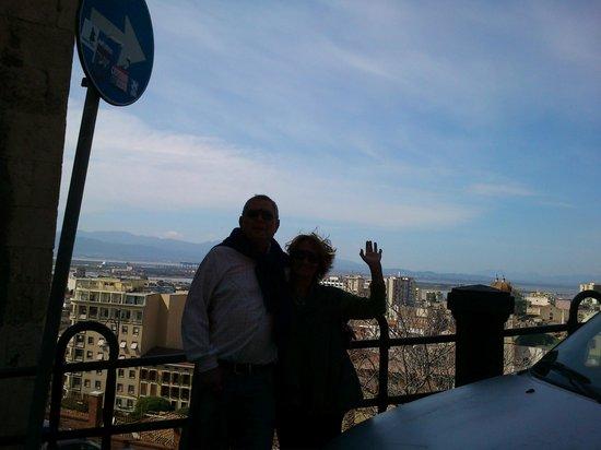 Torre dell'Elefante: vista desde la torre