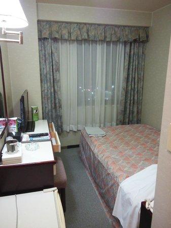 Hotel Sun Route Muroran: 夜でも明るい