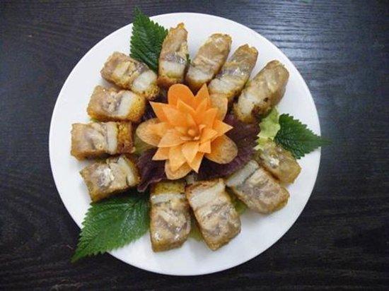 An Phuc vegetarian restaurant: Vegan meat