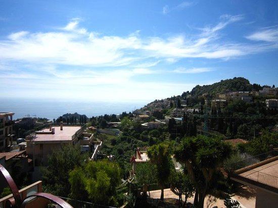 Andromaco Palace Hotel: ocean view from the balcony