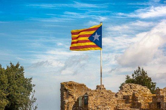 Begur, Spanien: развалины