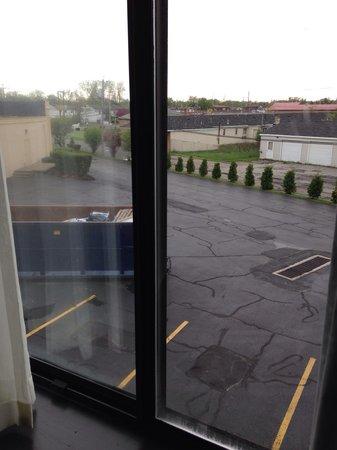 BEST WESTERN Summit Inn: Window view not so pleasing