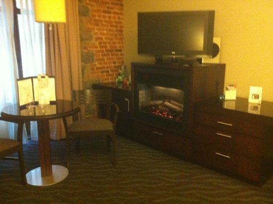 Hotel Nelligan: room area