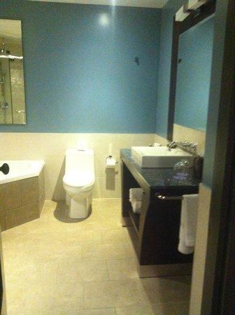 Hotel Nelligan: bathroom area