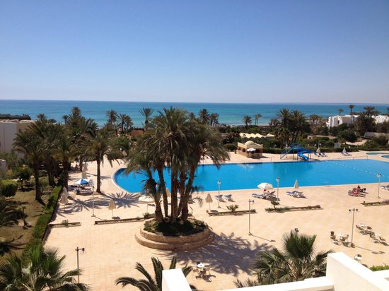 Hotel Djerba Castille: La vue de ma chambre