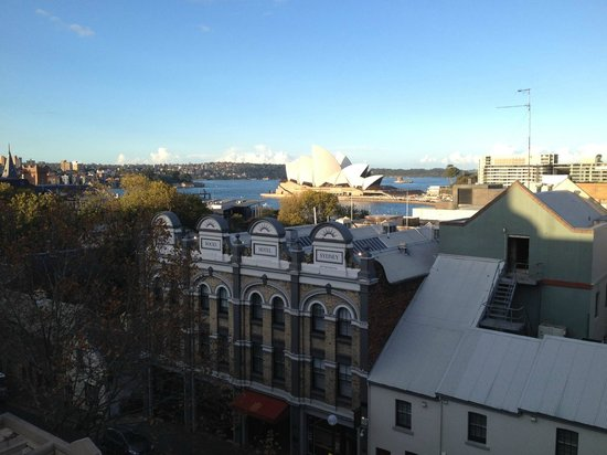 Rendezvous Hotel Sydney The Rocks: View by Day from Studio Room with Balcony 5th Floor