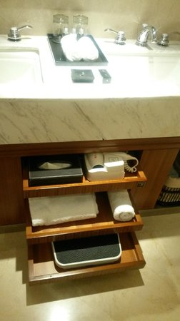 L'Hermitage Hotel : bathroom