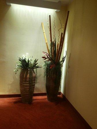 Parco Sassi Hotel : corridoio verso la camera