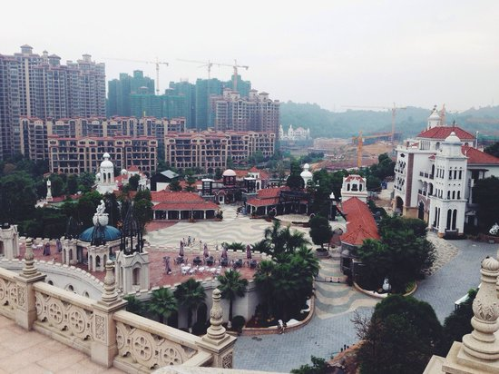 Hakka Park: A view from an upstair church ⛪️