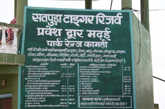 Satpura National Park Madhai Side