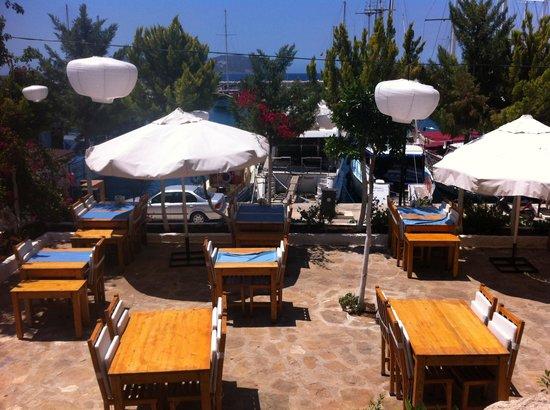 Sultan Garden Restaurant: Il ristorante visto dall'alto