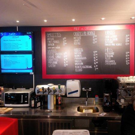 Ch'Etoy Cafe Restaurant : Prix abordables - _Service Rapide