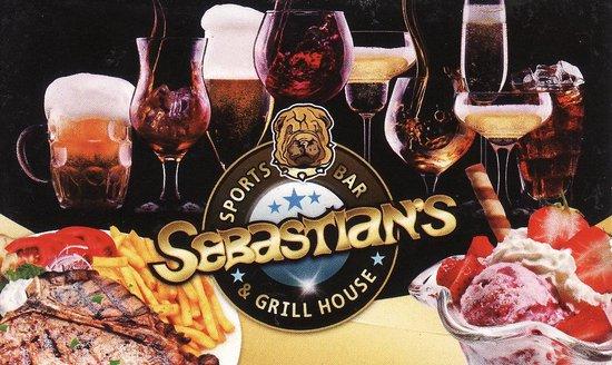 Sebastian's Sport Bar : card